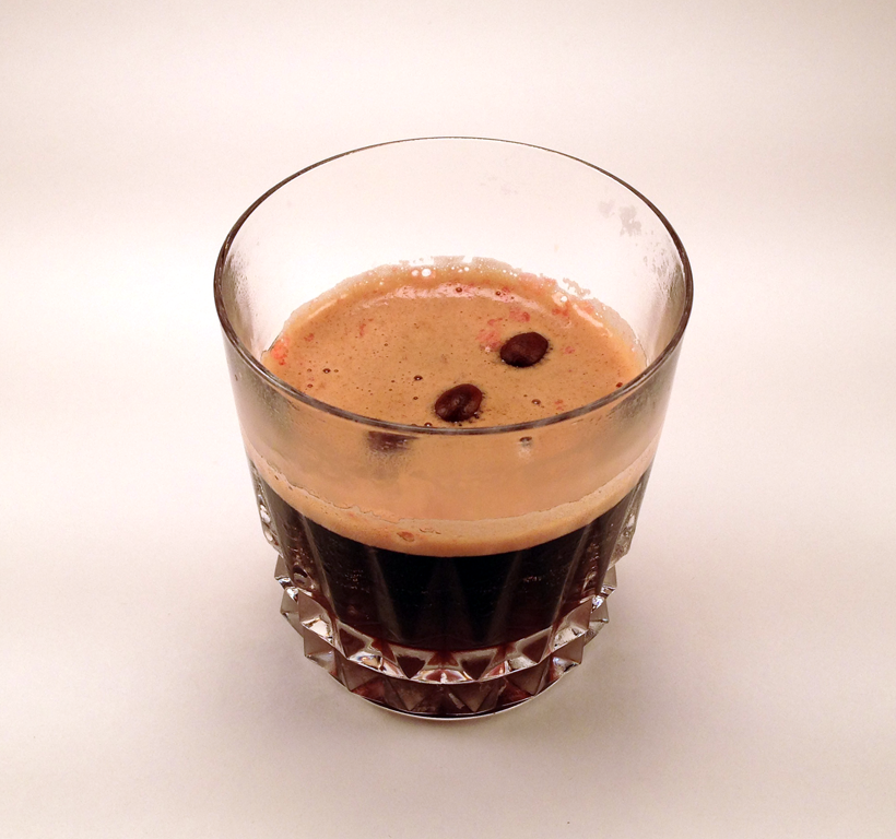 Stouthearted: Strawberry, Amaretto, Coffee-infused Bourbon, Oatmeal ...